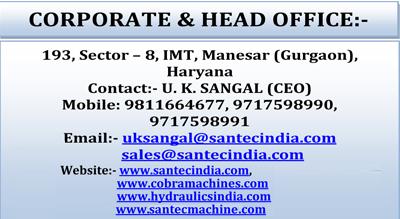 Hydraulic Machine Exporter,Hydraulics Machinery India