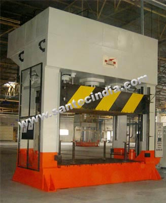 Hydraulic Forming Press for Roof Lining, Head liner, Hood Insulator, Dash Insulator, Carpets, Woodstock