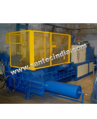 Triple Compression Scrap Baling Presses, Balers - Horizontal Type